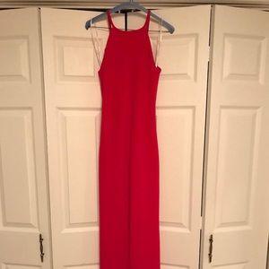 Fuchsia Calvin Klein Formal Dress